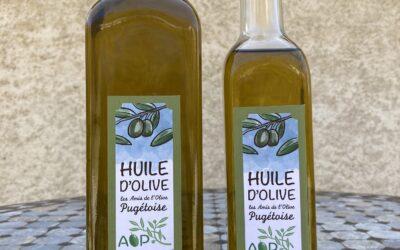 L'huile d'olive des Amis de l'Olive Pugétoise